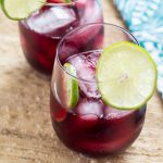 Agua de Jamaica (Hibiscus Tea)