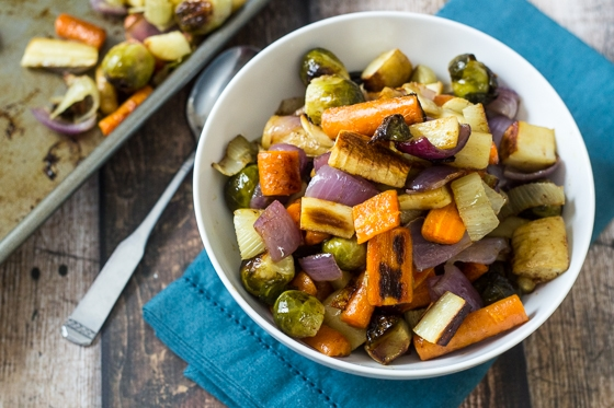 Fennel Roasted Fall Vegetables