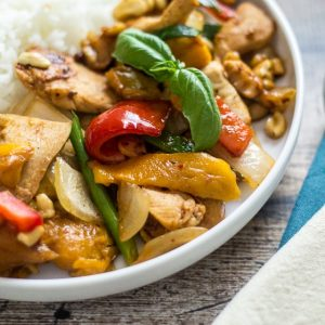 Thai Chicken with Mangoes