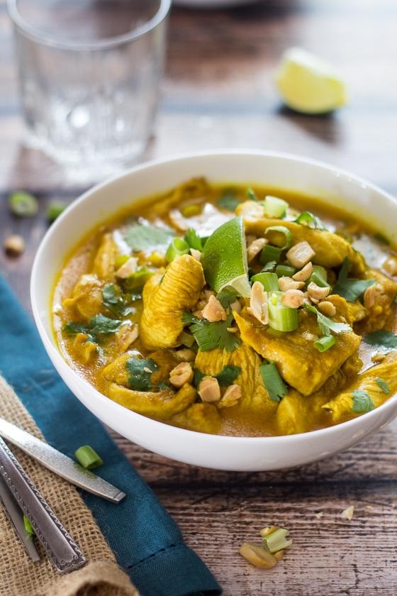 ... West African Peanut Chicken Soup (30 Minute Mondays!) #chicken #soup