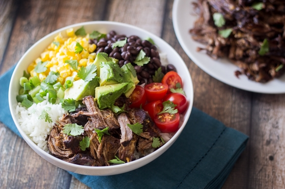 Barbacoa Beef Bowls - no big deal, only the best thing you'll ever eat.  A delicious Mexican meat bowl!