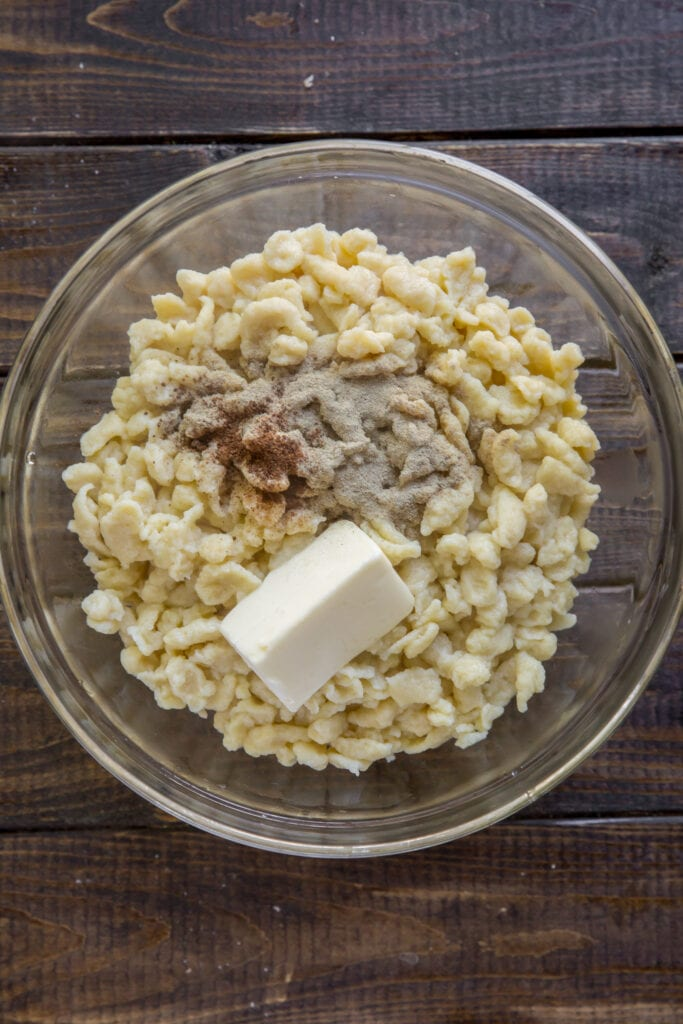 How to Make Spaetzle with this Homemade German Spaetzle recipe.