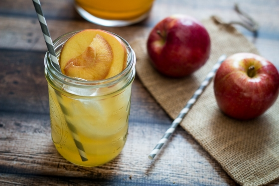 Caramel Apple Sangria - better make two batches!