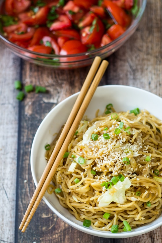 15 Minute Easy Yakisoba Noodle Stir Fry