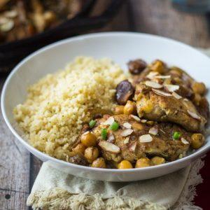 30 Minute Moroccan Chicken Skillet