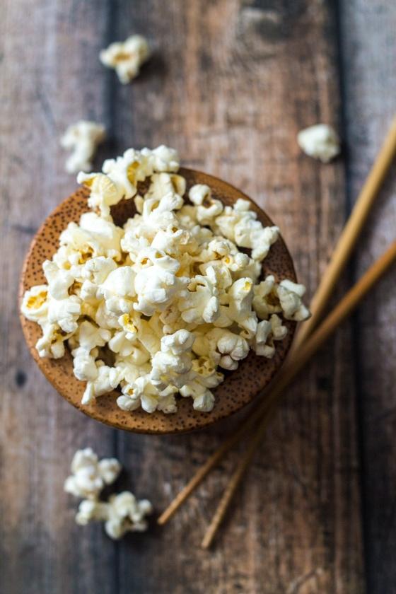10 Minute Wasabi Popcorn Recipe
