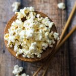 10 Minute Wasabi Ginger Popcorn