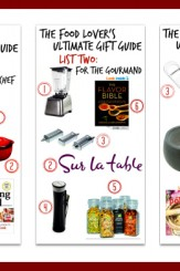The Ultimate Gift Guide for everyone who loves food!
