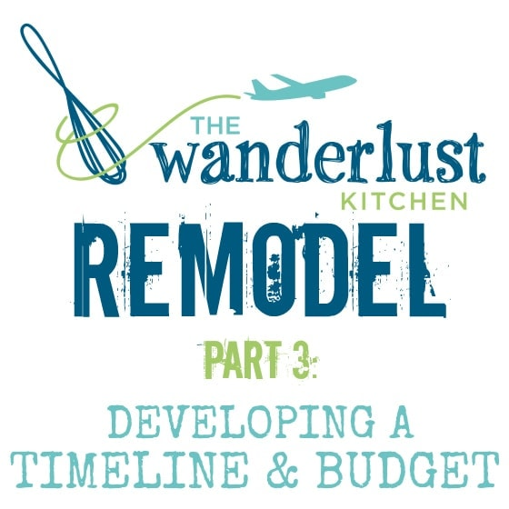 renovation construction budget spreadsheet implementing renovations property renovation budget How to Develop a Home Remodel Timeline and Budget - The Wanderlust Kitchen