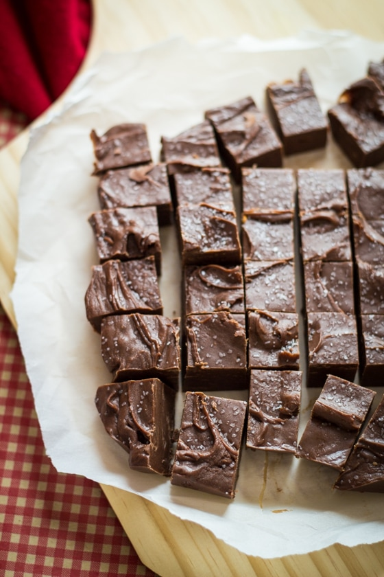 A hint of spice from Chipotle peppers make this chocolate fudge entirely crave-worthy!