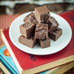 5-Ingredient Chipotle Chocolate Fudge with Sea Salt