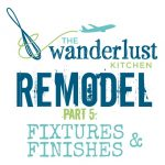 House Remodel Fixtures and Finishes!