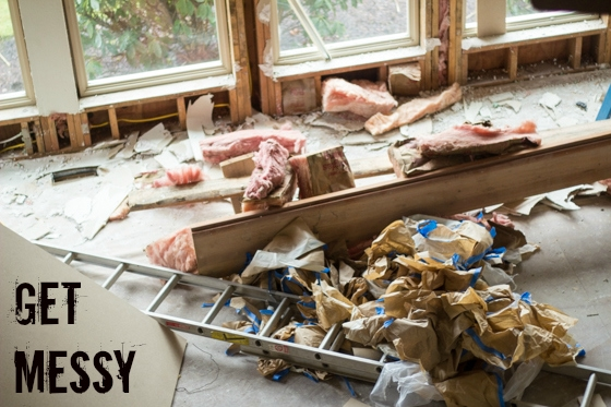 Planning a remodel? Completing your own demolition can save you a boatload of money, but isn't for the faint of heart. Put on some grubby clothes, pull on your gloves, and let's get to work!
