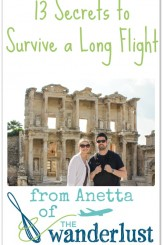 13 Secrets to Survive a Long Flight (from Anetta of The Wanderlust Kitchen)