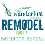 Bathroom Remodel Reveal!