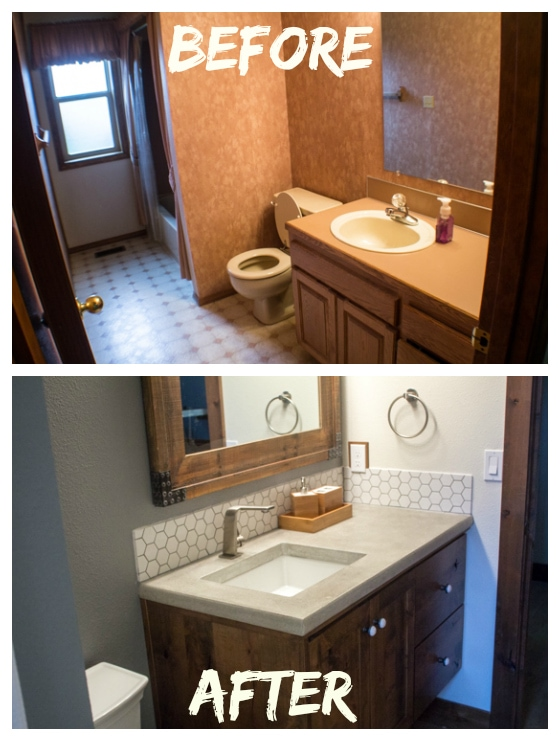 House Remodel: Bathroom Reveal!