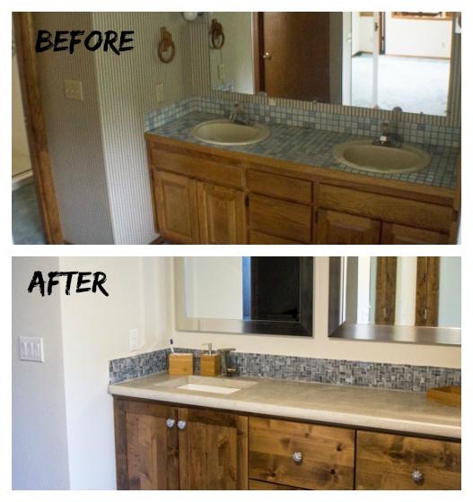 Bathroom Remodel Reveal The Wanderlust Kitchen - Quick bathroom remodel