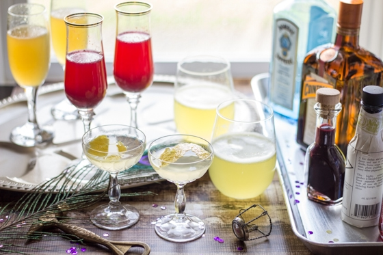 Mardi Gras Cocktail Party