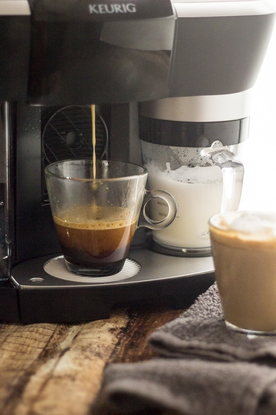Brown Sugar Coffee Recipe! This warm, delicious Cinnamon Brown Sugar Latte is so easy to make. Add this cinnamon brown sugar to your latte for homemade coffee heaven!