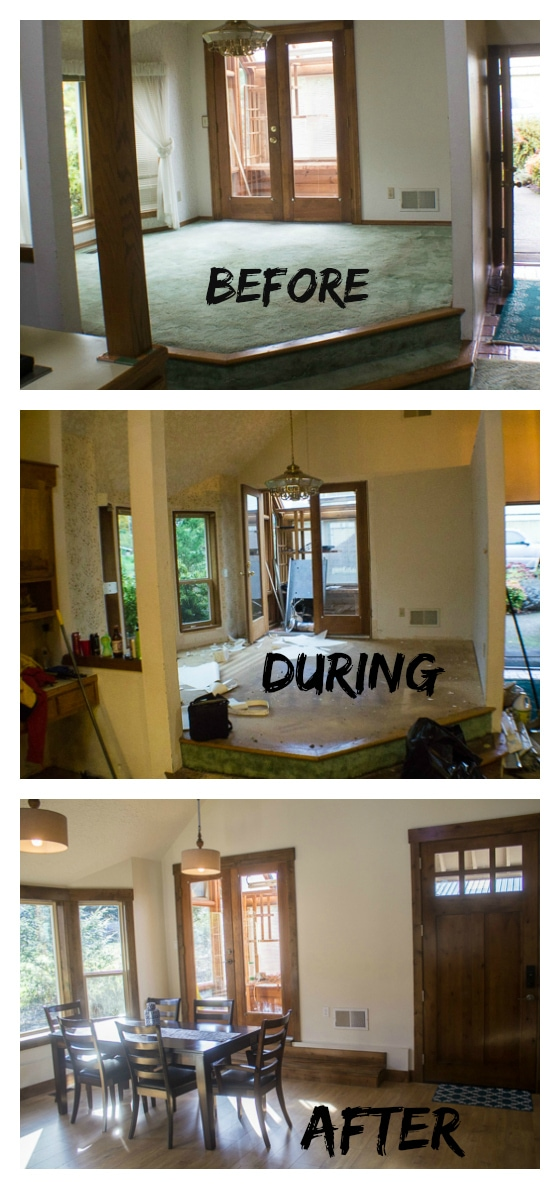 Living Room Remodels Before And After Living Room