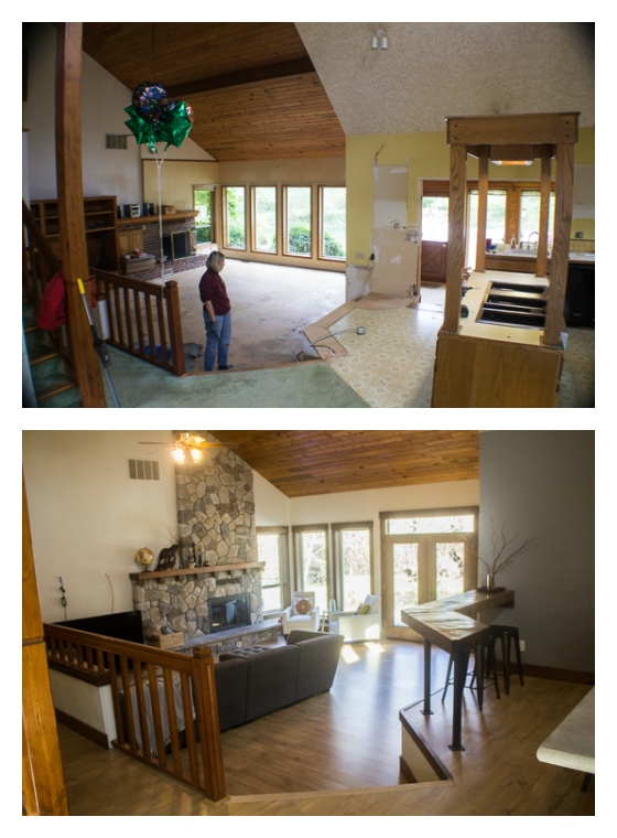 Fabulous House Remodel Before And After The Big Reveal The Wanderlust Largest Home Design Picture Inspirations Pitcheantrous
