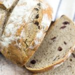 Easy Rustic Olive Bread