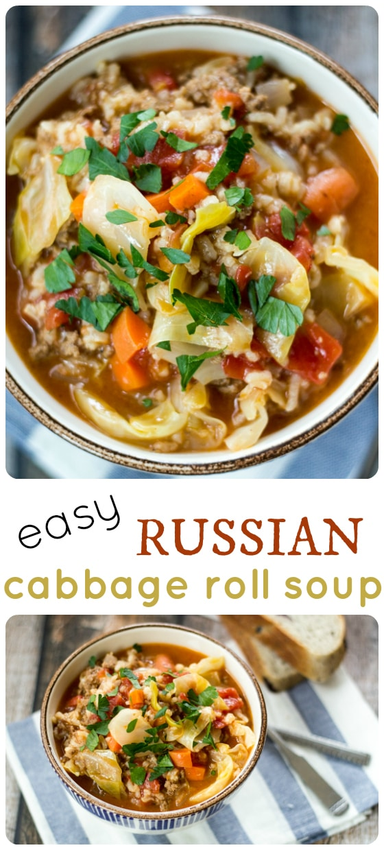 Russian Cabbage Soup Recipe — Dishmaps