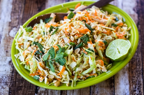 Fragrant mint, crunchy peanuts, and fresh-squeezed lime juice bring ...