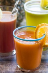 Juice Bar Recipes - using KitchenAid's Stand Mixer Juicer and Sauce Attachment