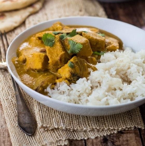 Creamy Cashew Indian Chicken Curry - The Wanderlust Kitchen