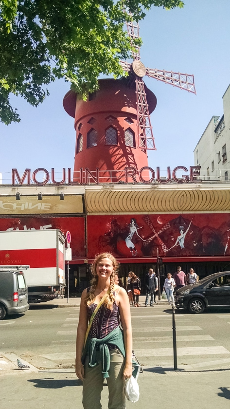 The Moulin Rouge: 3 Days in Paris