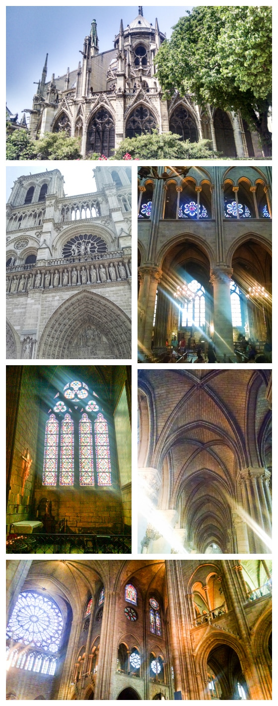 Notre Dame: What to do in Paris in 3 Days - see the sights, eat the food, and drink the wine!
