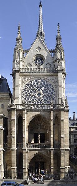 Sainte Chapelle Western Facade