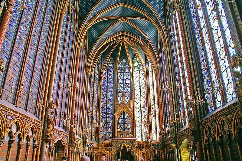 Sainte Chapelle Upper Level