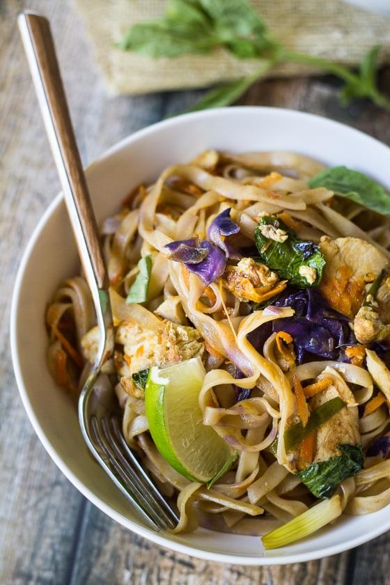 Easy Thai Drunken NoodlesThe Wanderlust Kitchen