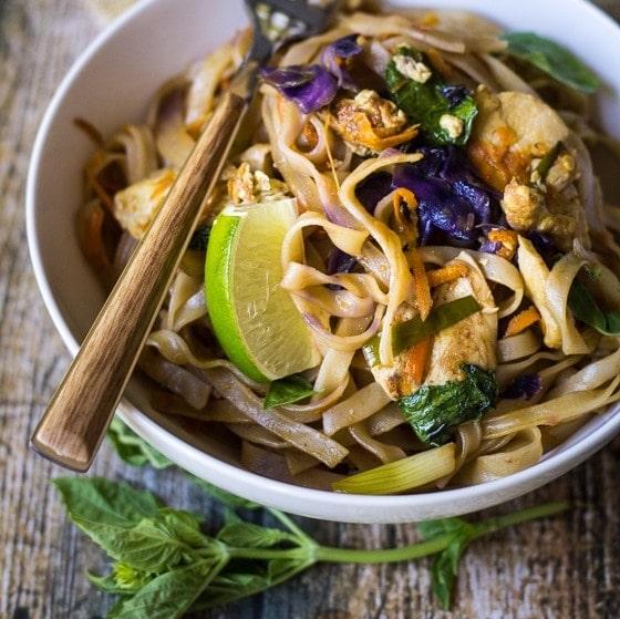 Easy Thai Drunken Noodles