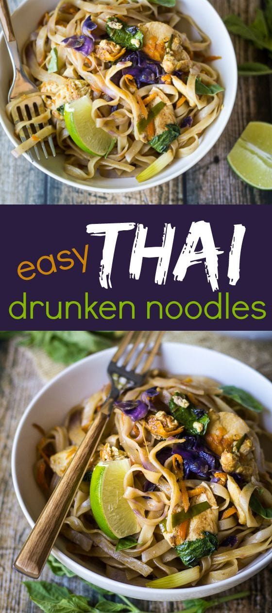 Easy thai drunken noodles the wanderlust kitchen simple ingredients make an extraordinary meal with this easy thai drunken noodles recipe forumfinder Image collections