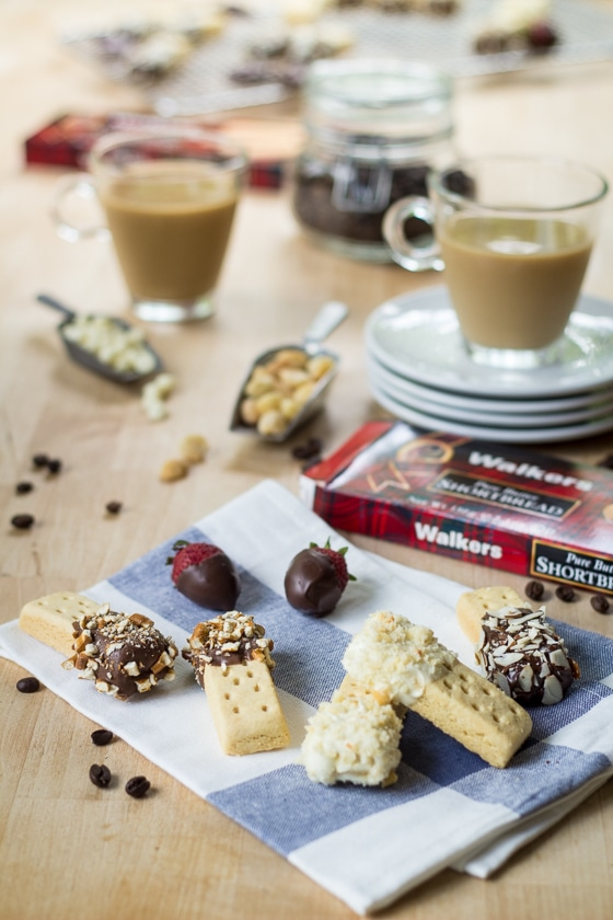 "I love this super easy 15-minute recipe which turns shortbread cookies into ""biscotti""! Great gift idea."