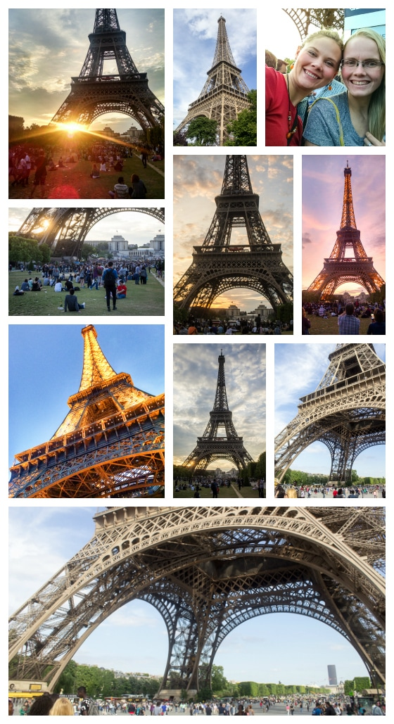 The Eiffel Tower: Paris in Three Days Itinerary
