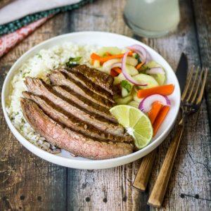 Hoisin Glazed Flank Steak