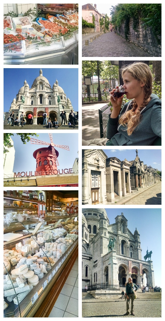 Montmartre: The Best Paris Itinerary 3 Days