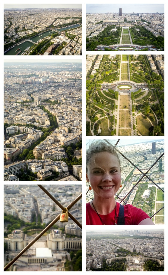 View from the Eiffel Tower: The Perfect 3 Days in Paris