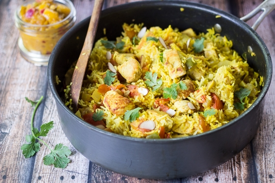 Quick And Easy Chicken Biryani The Wanderlust Kitchen