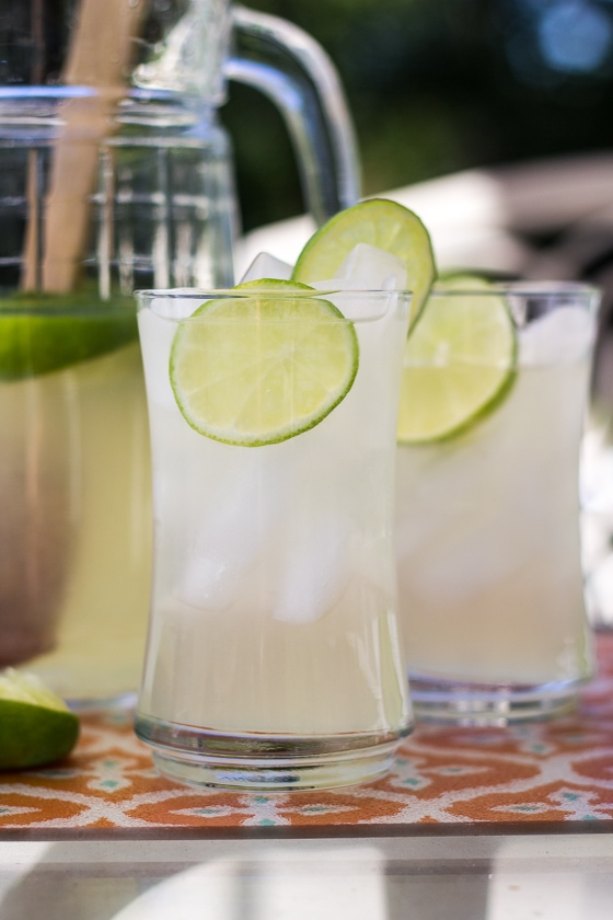 Thai Style Limeade with Lemongrass and Lime Leaves - The Wanderlust ...