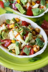 These Breakfast Burrito Bowls are just the thing for busy mornings and empty stomachs. Make the filling on a Sunday for quick breakfasts all week!