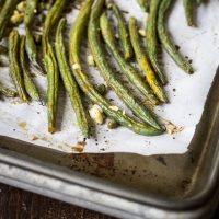 Best Ever Oven Roasted Green Beans