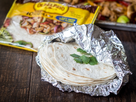 Let your oven do the work with this easy Sheet Pan Fajita recipe!