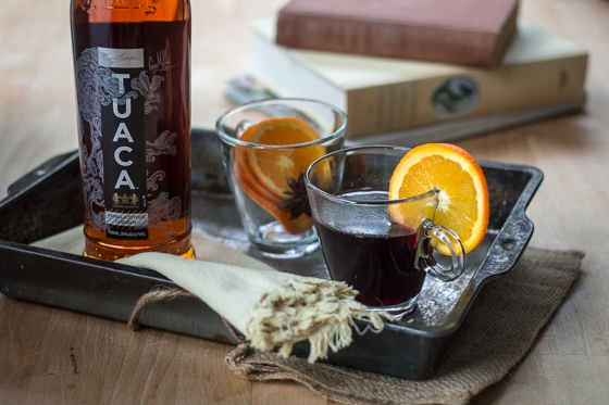 Vanilla, Citrus, and warm spices make this mulled wine a treat for the senses!