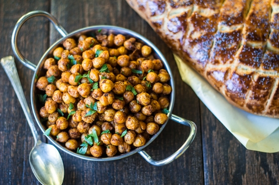 Looking for sumac recipes?  Try this one! Citrus-scented Sumac and warm Middle Eastern spices add bold flavor to these sumac roasted chickpeas!