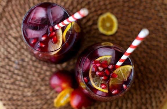 Citrus-Pomegranate Sangria | 9 Cozy Sangrias for Winter